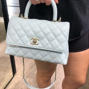 CHANEL Small Coco Handle Flap Bag